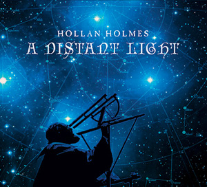 CD cover - A Distant Light. Design and layout by Hollan Holmes
