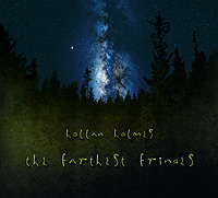 CD cover - The Farthest Fringes. Design and layout by Hollan Holmes
